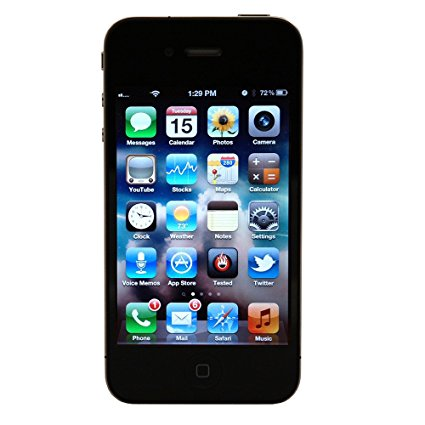 apple iphone 4s mobile phone 16 gb black cpo simply sound. Black Bedroom Furniture Sets. Home Design Ideas